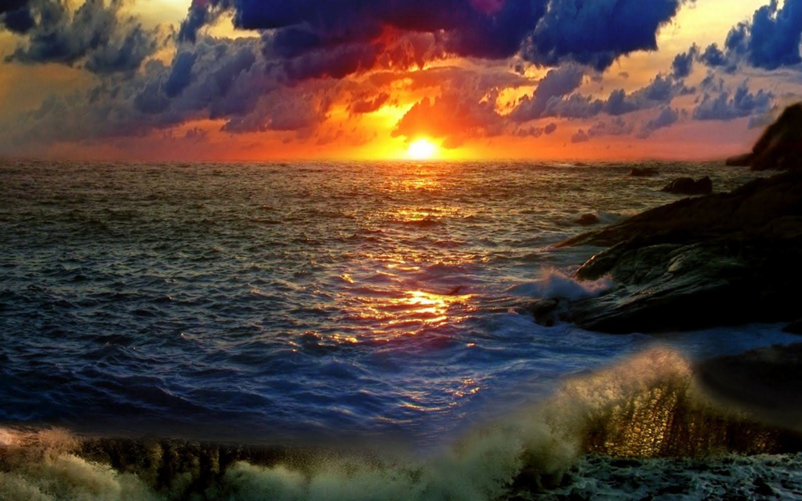 ocean sunset pictures