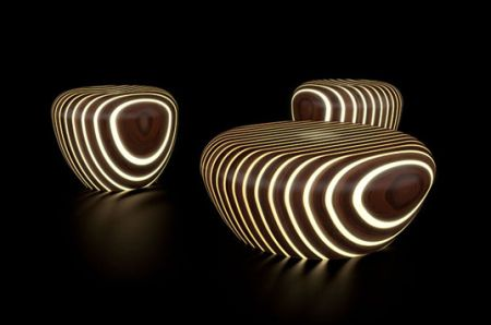 unique LEDs furniture style