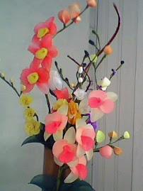 arranjo de orquideas