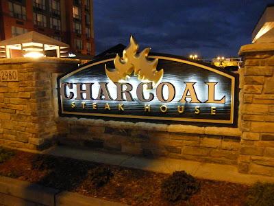 Custom Carved High Density Urethane Sign - The Sign Depot - Charcoal Steak House