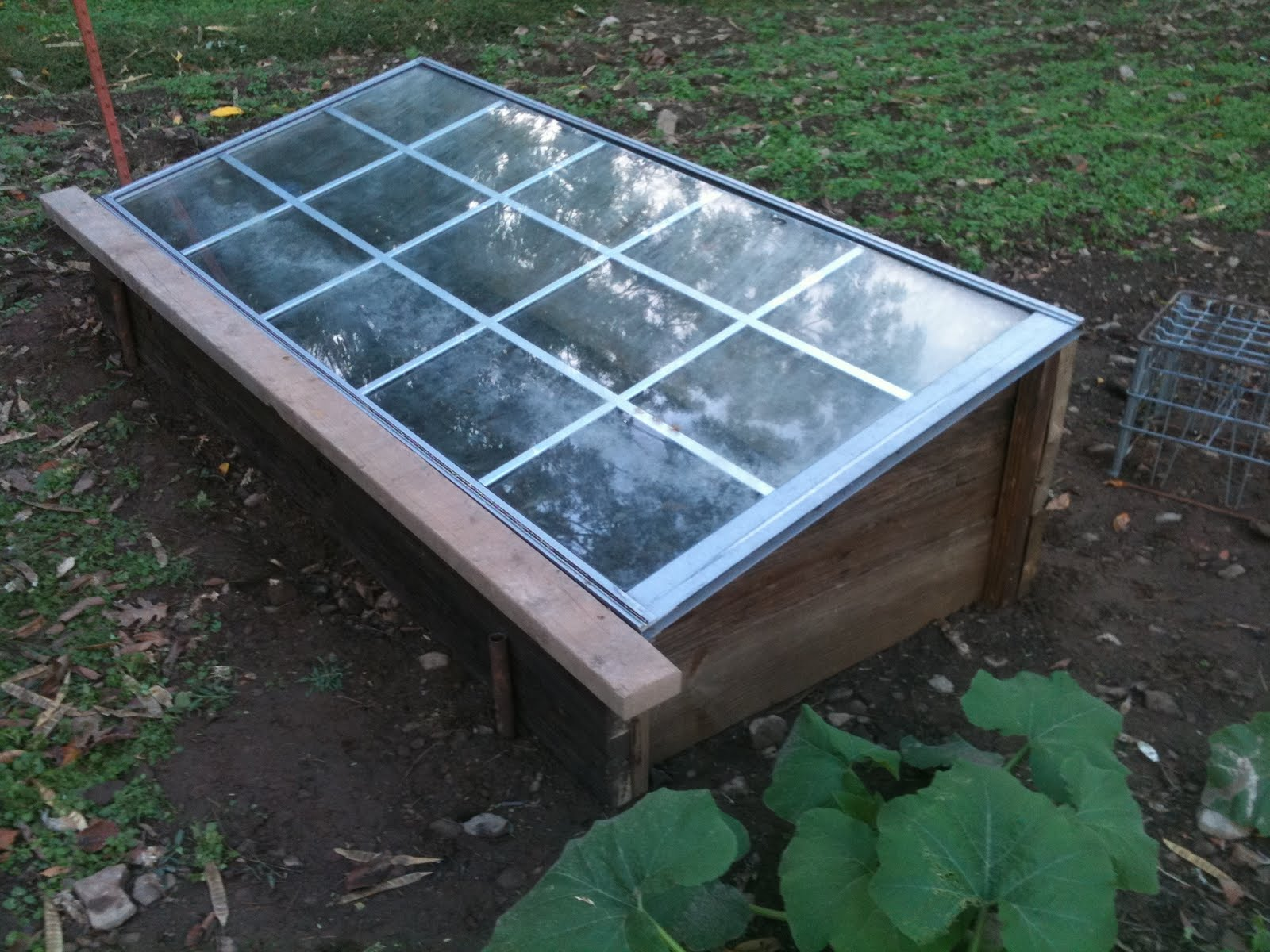 DIY Cold Frame | Ray\'s Garden - has moved on...