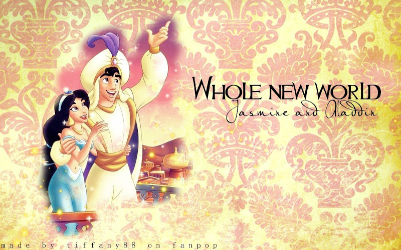 Disney: 3 wallpapers da Princesa Jasmine title=