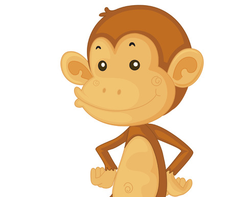 Cute monkey cartoons funny