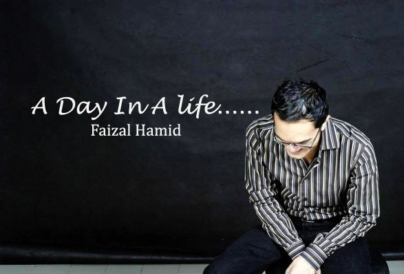 a day in a life.....