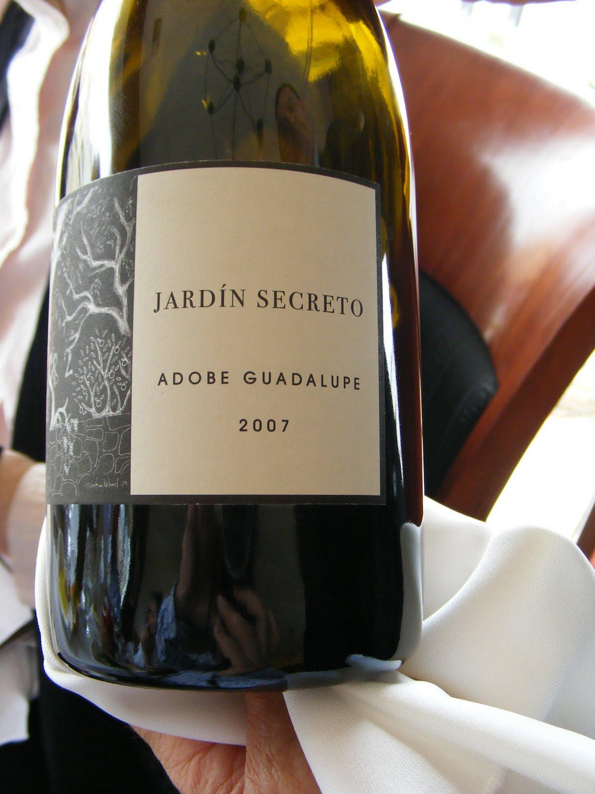 Street gourmet la great chefs of baja in 39 courses for Jardin secreto wine