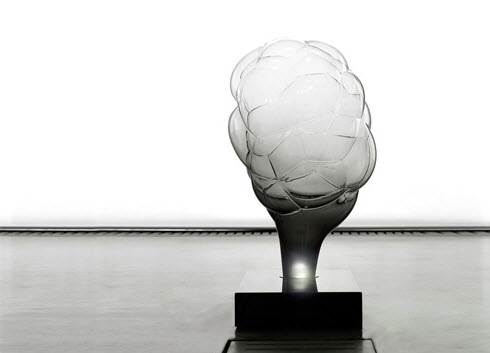 S.m.o.k.e lamp by mathieu lehanneur