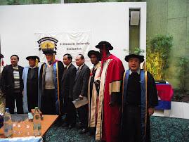 聖杰文瑞士畢業典禮 - Doctorate group photo