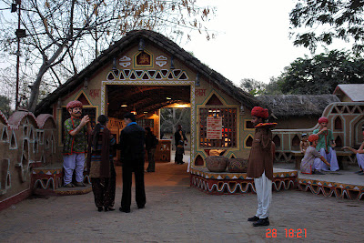Chokhi Dhaani in Jaipur - The entry gate to the village