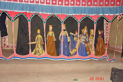 Chokhi Dhaani in Jaipur - A puppet show
