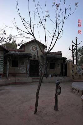 Chokhi Dhaani in Jaipur - A hut inside the village