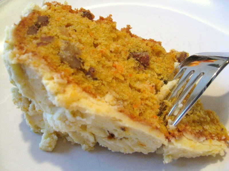 Carrot and Cardamom Cake with Mascarpone Frosting (From ...
