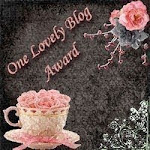 1 lovely blog award from Rakhshanda