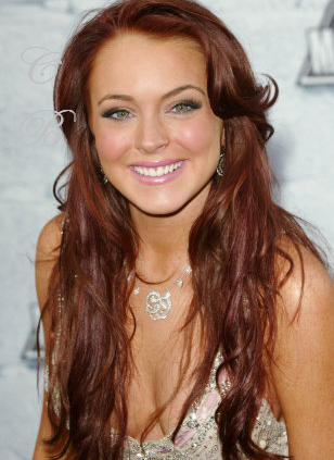 dark hair with red tips. Brown Hair With Red Tips.
