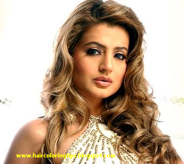 Bollywood hair color ~ Curly Hairstyles