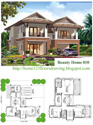 Tropical Small House Plans