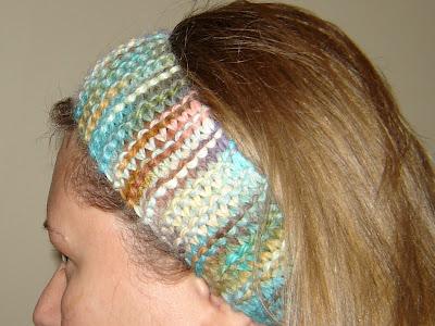 Alpaca Headband Knitting Pattern : Nurseyknitter: Can you ear me now? - Alpaca headband