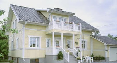 Colores para exteriores y fachadas for Colores de moda para exteriores
