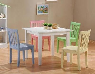 Pintar muebles de madera con esmalte - Pintar sillas de madera ...