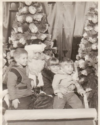 JoyDad Visits Santa, 1963