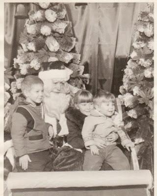 JoyDad Visits Santa, 1963