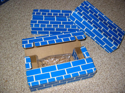 Weighted Cardboard Blocks