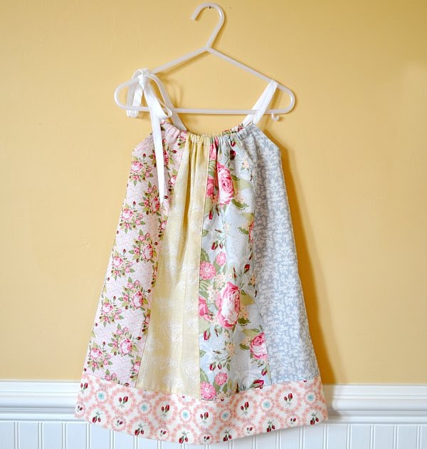 Cute Ideas For Pillowcase Dresses : DIY Ideas: DIY: PILLOWCASE DRESS TUTORIAL