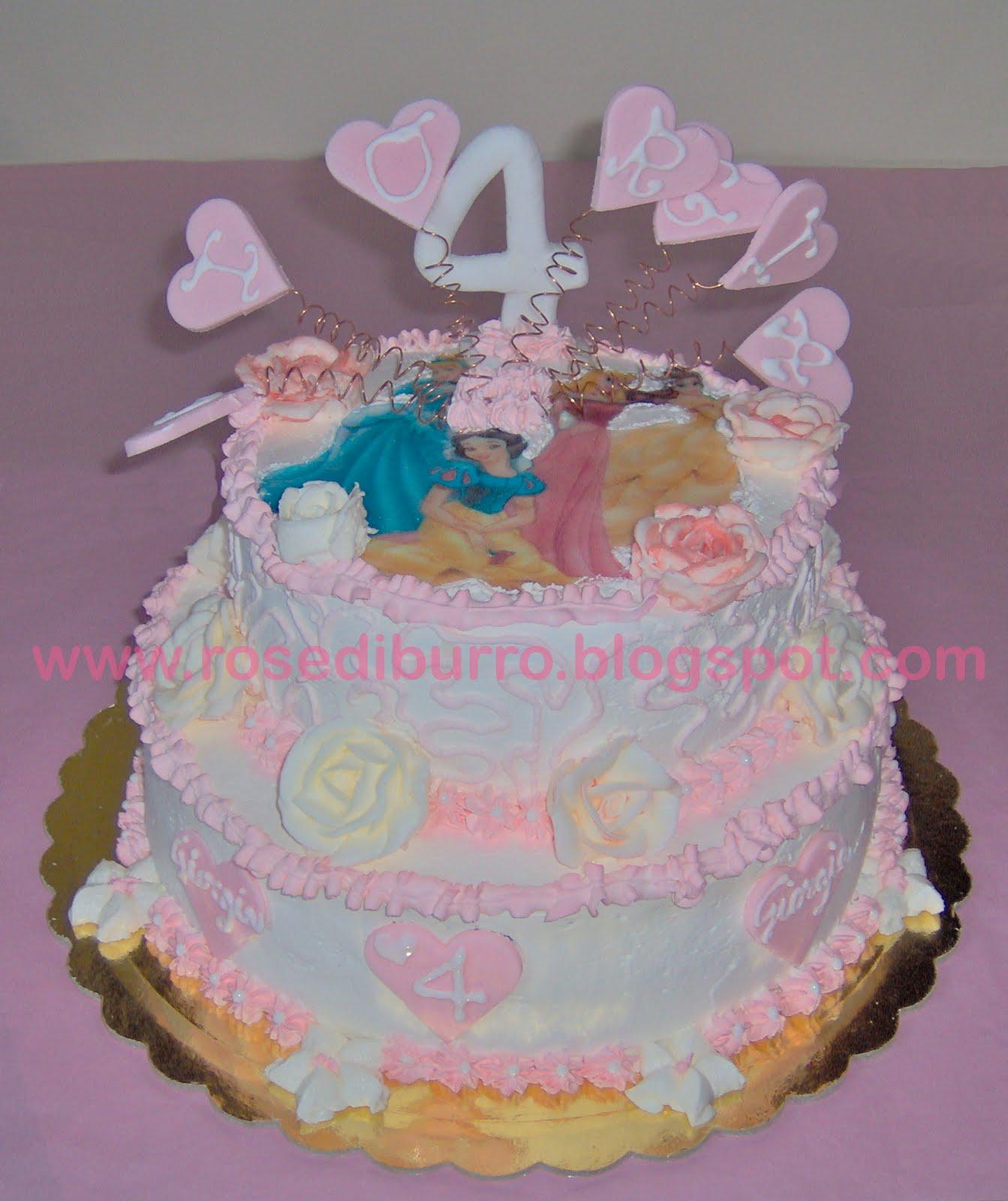 torte di principesse torta principesse : Rose di Burro: La Torta delle Principesse