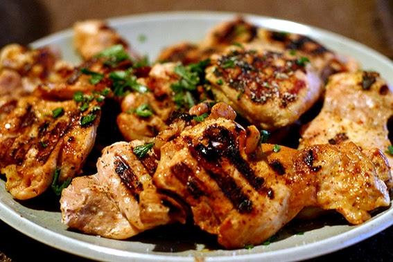 ... RECIPE - Caipirinha Grilled Chicken (Frango com Marinada Caipirinha