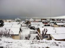 En Río Grande ha nevado