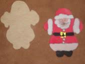 Moș Crăciun model 2, dimensiuni 7,5/9,5  cm