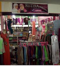 Ruzika Moslem Outlet Plaza Cibubur lt. 3 (atas KFC)
