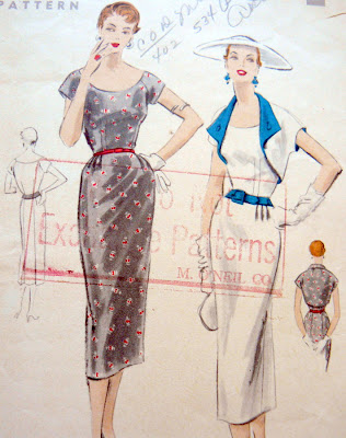 V2903 | Misses'/Misses' Petite Dress | Vintage Vogue | Vogue Patterns
