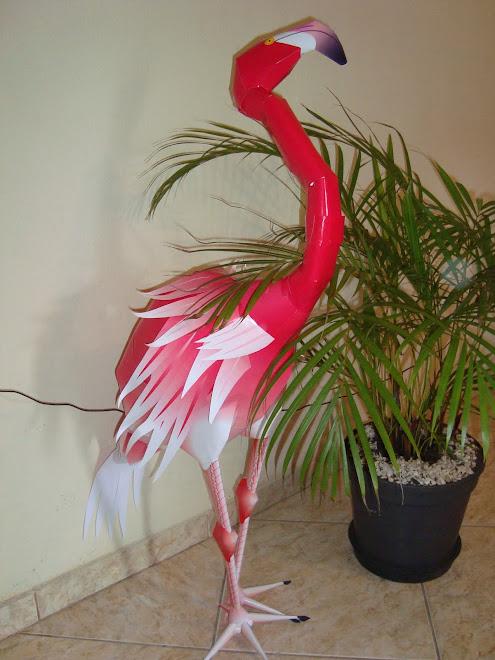 Flamingo tamanho natural