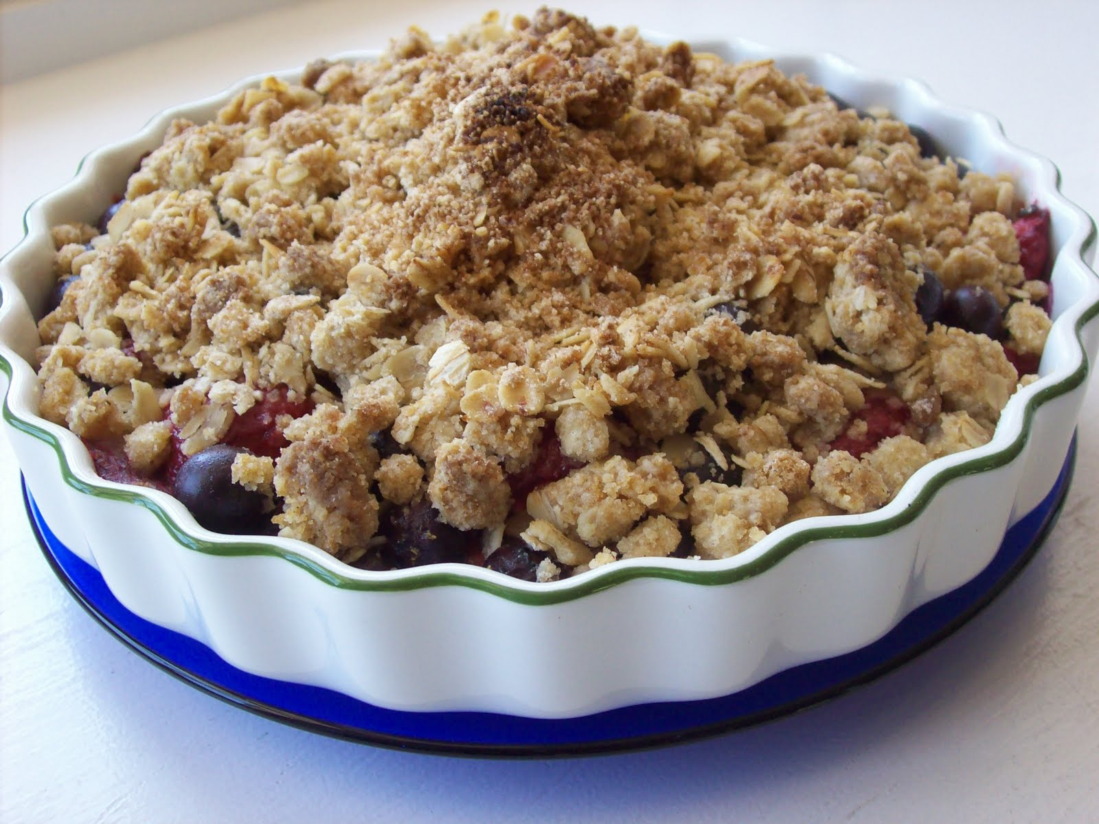 red or green strawberry blueberry crisp red or green On strawberry blueberry crisp recipe