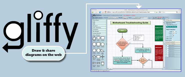 Gliffy awesome tool for drawing diagrams online ccuart Images