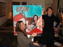 Mariana Vidal y Jennifer Hampton .