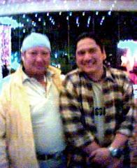 With Samo Hung