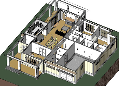 Simply elegant home designs blog revit house plans for Revit architecture modern house design