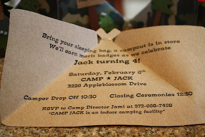 camping party invitations check out these cute inviations i made for jacks 4th birthday party i knew i wanted to use a tent for the inviation - Camping Party Invitations