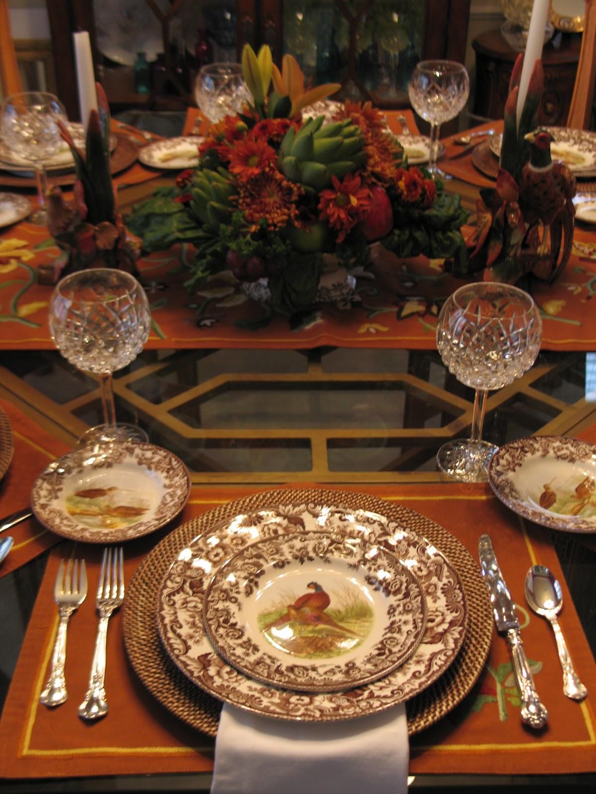 The Blackberry Vine Thankful Table