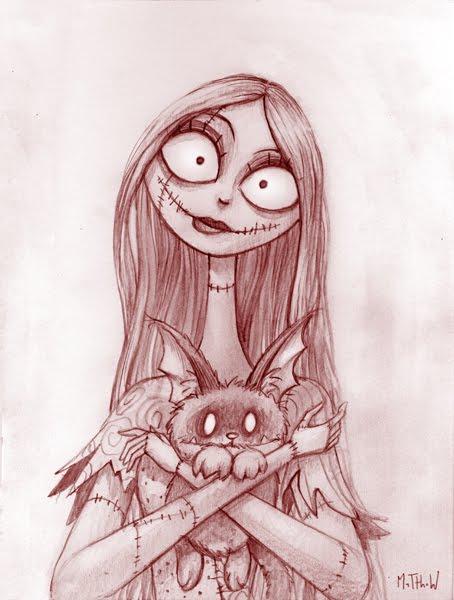 Nightmare Before Christmas: Sally | www. Matthew Art .com