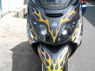 Modifikasi Piaggio X-Evo