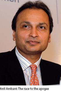 """We have made substantial operational progress. We have embarked upon the world's largest telecom network"" -Anil Ambani"