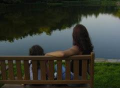 Um lugar para refletir (autoretrato)