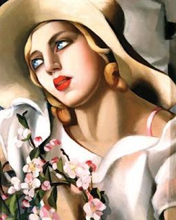 Tamara de Lempicka Portrait Fille painter pintura
