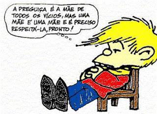 Quino Filipe Mafalda Preguiça