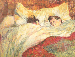 The Bed A Cama Henri de Toulouse-Lautrec