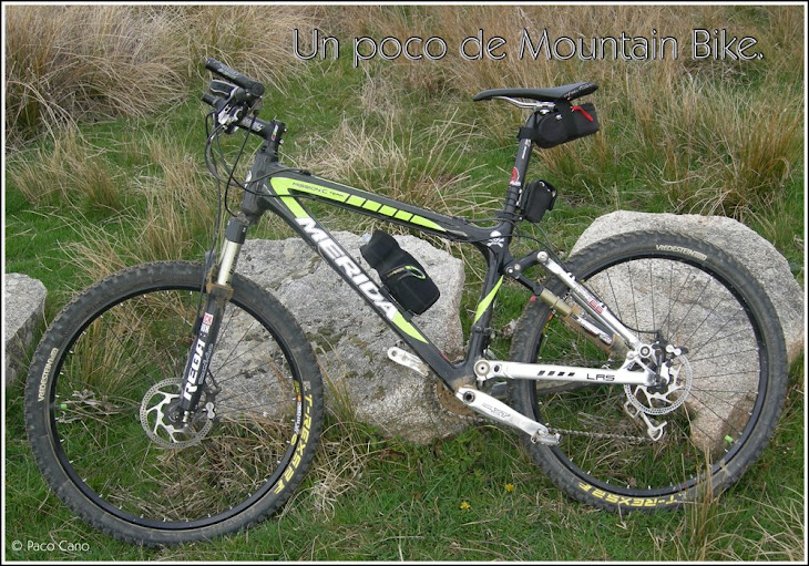 Un poco de Mountain Bike.