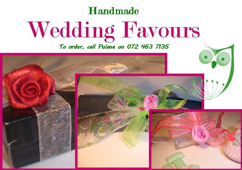 Seshweshwe Gifts: Seshweshwe Wedding Favours