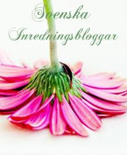 G med i Svenska Inredningsbloggar